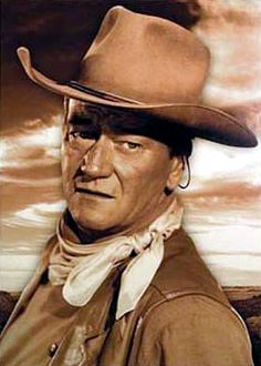 """""""You should have let them kill me 'cause I'm gonna kill you. I'll catch up with you! I don't know when, but I'll catch up with you. And every time you turn around, expect to see me, because one time you'll turn around and I'll be there. I'll kill you, Matt"""" - (John Wayne). from  """"RED RIVER"""""""