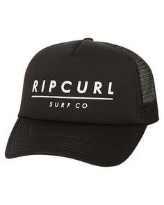 385b4a14695 Rip Curl Liner Trucker Cap Black
