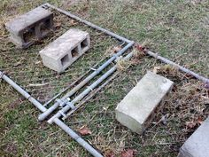 Our Tiny Farm in Western North Carolina: Build Your Own Drag Chain Harrow (Manure Rake for Your Pasture)