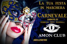 AMON CLUB PRIVE: FESTA IN MASCHERA