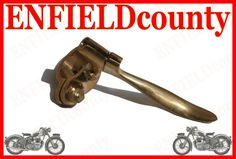 This can be fitted to all early and new Royal Enfield bikes. If you are looking for any other enfield parts, do let us know. Enfield Bike, Royal Enfield, Motorcycle Parts, Brass, Pure Products, Ebay, Rice