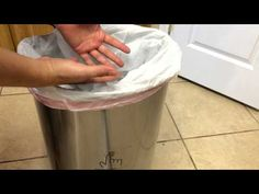 simplehuman Rectangular Step Can w/ Liner Pocket - YouTube