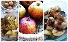 jabłka zapiekane z sosem i na słodko