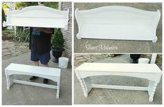 ~Sweet Melanie~ A hutch made into a shelf and bench