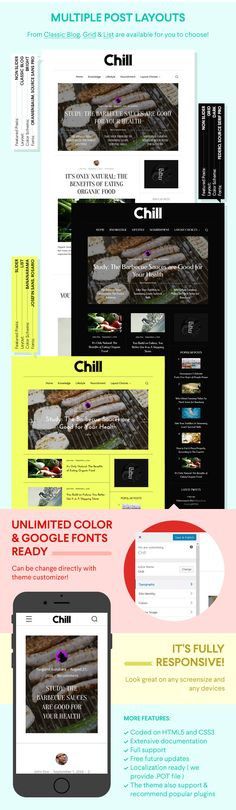 Chill - #Blog and #Magazine #WordPress #Theme
