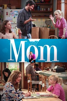 Mom | Anna Ferris -- such a funny show!  Is this the new norm?  I hope not ~