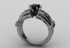 Hey, I found this really awesome Etsy listing at https://www.etsy.com/listing/165445069/14k-white-gold-classic-bridal-beautiful