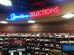 FASTSIGNS® of Vancouver, BC has custom sign and banner solutions to fit any need for your entire business. Simple Signs, Liquor Store, Be Yourself Quotes, Vancouver, Innovation, Banner, Neon Signs, Messages, Lettering
