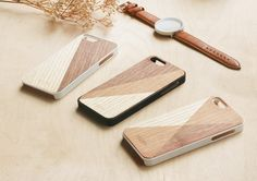 Wooden iPhone Case Patch Collection