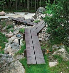 Garden Paving, Garden Stones, Garden Paths, Small Yard Design, Garden Structures, Garden Projects, Backyard Landscaping, Garden Inspiration, Beautiful Gardens