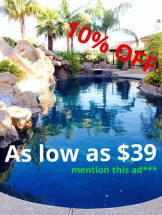 pool service of the east valley 4805827665 rates as low 3900 pool service ad22 pool