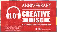 10th Anniversary CreativeDisc
