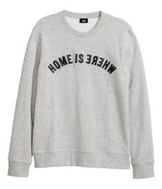 Home Is Where (Sweatshirt) - H&M : http://www.hm.com/us/product/51480?article=51480-A&cm_vc=GOES_WITH_PD#