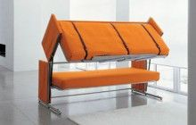 Wall + Bed + Sofa = Stylish Convertible Stealth Furniture   Designs & Ideas on Dornob