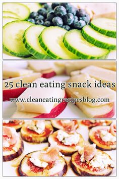 Weight loss help made easy with healthy snacks. Click pin for 25 clean eating snack ideas! #cleaneating #healthyeating #diet