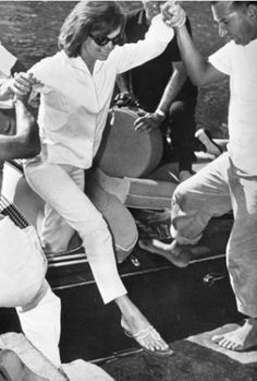 #jackie o  Oh so Preppy Style.    | More here: http://mylusciouslife.com/style-icon-jackie-bouvier-kennedy-onassis/
