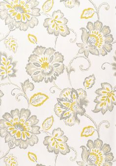 Thibaut- T4917 Pattern: ALEXA  Collection:Jubilee Colorway:Gold and Grey