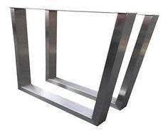 Design Tischbein Tischgestell Edelstahl TUG 603 Tischuntergestell Tischkufe Neu
