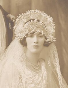 """Dusty Old Thing -Vintage Photo wedding picture, 1927"""""""