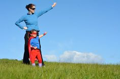 Superhero mother and daughter against a dramatic blue sky background with copy space. Concept photo of super hero girl power play pretend childhood imagination. Really Good Comebacks, Kids Growing Up, Parent Resources, Mother And Child, Our Kids, Self Esteem, Immune System, Dream Life, Parenting Hacks