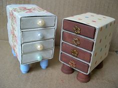 Matchbox Drawers