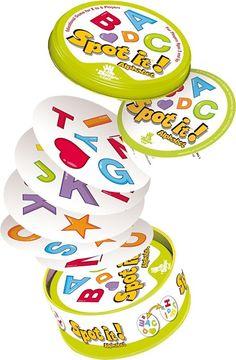 Amazon.com: Spot It! Alphabet: NotAvailable: Toys & Games