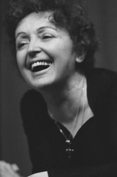 Edith Piaf, Edith Giovanna Gassion, Paris, France, Known as France's song sparrow. Divas, Famous Women, Famous People, Star Francaise, Portraits, Steve Mcqueen, Aretha Franklin, Alfred Hitchcock, Love People