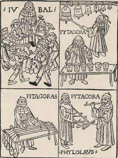 TICMUSart: Gravure sur bois extraite - Franchino Gaffurio (1492) (I.M.)