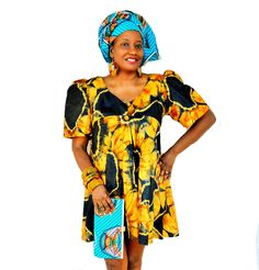 Mother's Day Gift Set African Print Purse , Headwrap and Jewelry Set