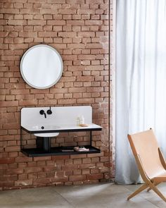 For those of us who love the industrial look, it's hard not to get excited every time we see this Steel19 wash-place solution! Inspired by urbanity and manufacture, the result of this collab is contemporary design combined with traditional craft-work.   This wash-stand is ideal for compact spaces, providing a complete solution while packing a serious design punch.  Enjoy 20% OFF Bathrooms + Tiles until June 30.   #basin #steel #bathroomdesign #washstand Add A Bathroom, Bathroom Vanity Units, Guest Bathrooms, Traditional Bathroom Furniture, Inset Basin, Lavabo Design, Contemporary Vanity, Contemporary Design, Vanity Basin