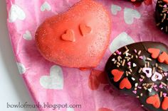 Chocolate Valentine Cakes (from A Bowl of Mush)