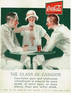 Coca Cola Poster, Coca Cola Ad, World Of Coca Cola, Poster Ads, Pop Drink, Coke Ad, Coca Cola Christmas, Vintage Coke, Old Ads