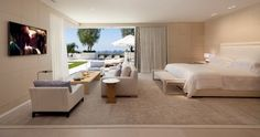 Beverly Hills Residence - contemporary - Bedroom - Orange County - Rosemarie Allaire Lighting Design