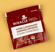 Miracle Tree's Chamomile Tea contains 155mg of organic caffeine tea extract making it the perfect coffee replacement for those who are looking for an organic energy boost.  This refreshing and delicious infusion has more caffeine than a cup of coffee and is powered by one of the world's most nutrient-dense superfoods - moringa.  Moringa is a nutritionally complex whole food naturally rich in vitamins, minerals and amino acids.   Try this in the Vegancuts May Snack Box or shop at miracletree.org
