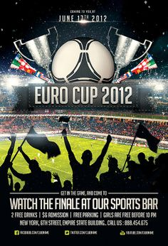 soccer match free sport flyer template soccer pinterest flyer