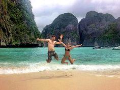 Maya Bay, Thailand #happyplace