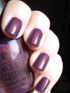 OPI Peel Me a Gobi Grape.  One of my faves.