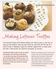 have leftover cake scraps? make cake truffles! follow this easy recipe! #cake #caketruffles #cakescraps