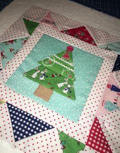 Cozy Christmas Tree Block Lori Holt Sew Along Tasha Noel Pixie Noel