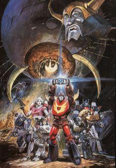 Transformers, by takani yoshiyuki