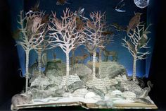 Su Blackwell, paper art, cut paper, woods, royal college of art, london, sheffield, Art, Green Materials, Recycling / Compost