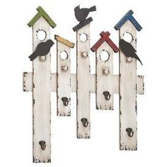 Would be cute for hanging garden tools in the backyard!                                                                                                                                                                                 More