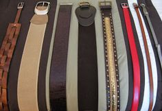 A Peek Inside the paNASH Style Closet: Belts, Belts, Belts! #paNASHstyle