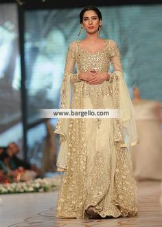 Special Occasion Dress Designer Wedding Dress Top:  Color: Cream Fabric: Crinkle Chiffon Embrace