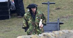 Actors, including Poldark himself Aidan Turner, were at Southerndown, filming for the next series