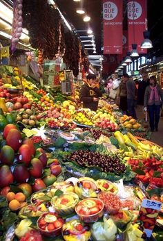 La Boqueria - Barcelona, Catalonia   - Explore the World with Travel Nerd Nici, one Country at a Time. http://TravelNerdNici.com