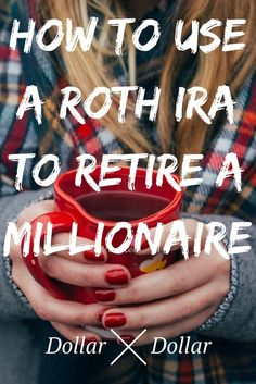 How To Use A Roth IRA To Become A Millionaire - Dollar After Dollar - Finance tips, saving money, budgeting planner Financial Peace, Financial Tips, Financial Planning, Financial Assistance, Financial Literacy, Budgeting Finances, Budgeting Tips, Faire Son Budget, Roth Ira