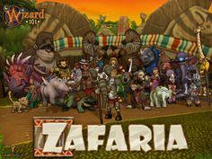 Wizards 101 - Zafaria