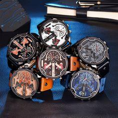 Men's belt quartz watch sport watch