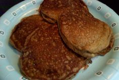 Best Tasting Pancakes Ever: 1 teaspoon vanilla  1 egg   1 cup soy milk   2 tablespoons vegetable oil  1 cup wheat all purpose flour  2 teaspoons baking powder  1/2 teaspoon salt  3 tablespoons sugar
